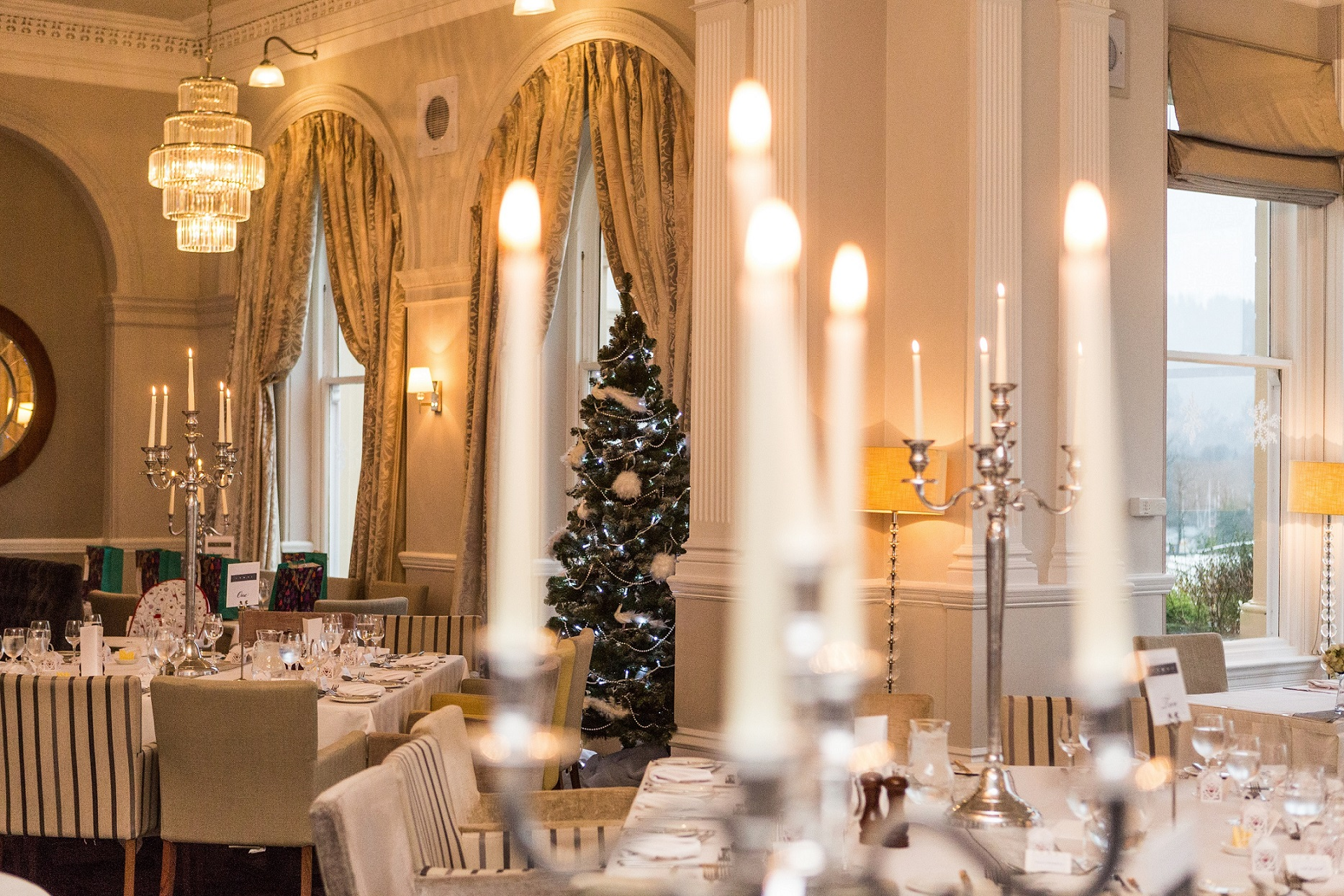 The Belsfield Hotel at Christmas